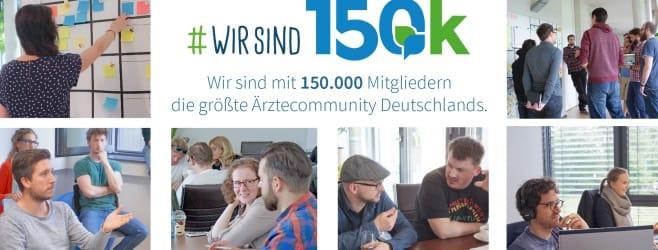 150.000 Ärzte bei coliquio – wir feiern!