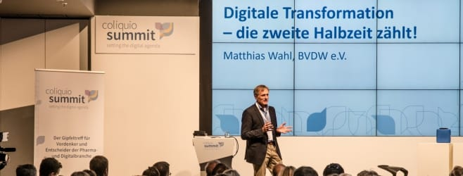 Impressionen vom 2. coliquio Summit in Berlin