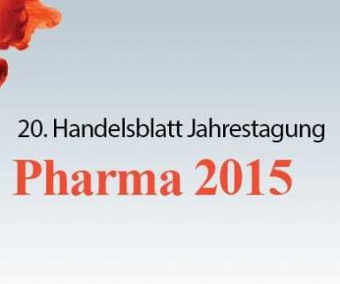 Pharma 2015: Felix Rademacher ist Speaker