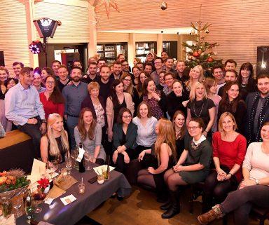 Auf ein weiteres erfolgreiches Jahr! Impressionen von der coliquio-Weihnachtsfeier