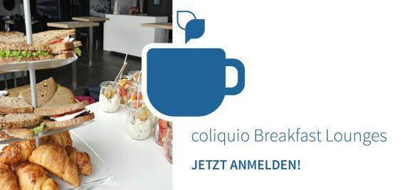 Frühstück mit Mehrwert: Jetzt anmelden zur coliquio Breakfast Lounge in Ihrer Nähe