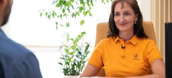 CEO Martin Drees im Interview mit Cornelia Friedrich  | So nutzt eine Gynäkologin die Community
