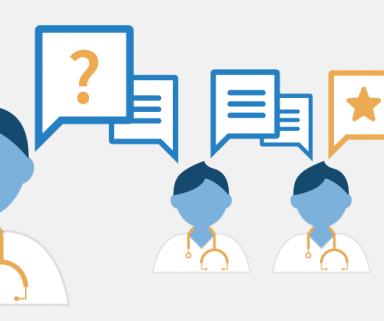 So löst die Ärzte-Community Patientenfälle   Bei diesem Fall haben 5.426 Mediziner mitgerätselt