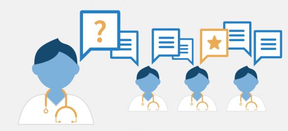 So löst die Ärzte-Community Patientenfälle | Bei diesem Fall haben 5.426 Mediziner mitgerätselt