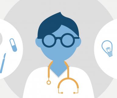 Infografik: Wie treffen Ärzte Therapie-Entscheidungen?   Aktuelle Umfrage unter 2.315 Ärzten