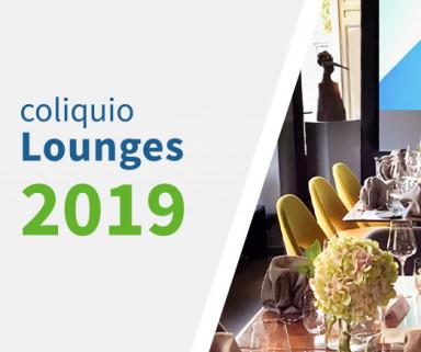 Jetzt anmelden zur coliquio Lounge in Ihrer Nähe