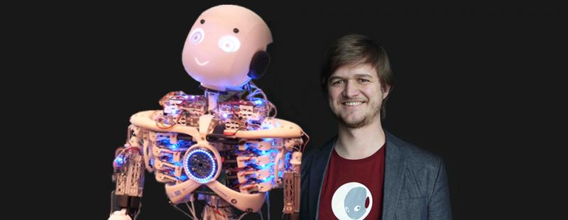 Wie ein humanoider Roboter wichtige medizinische Erkenntnisse liefert | 5 Fragen an Rafael Hostettler von Roboy