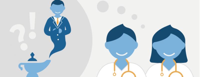 Was wünschen sich Ärzte von Pharma?   Neue Infografik: Diese Kanäle lohnen sich