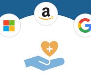 Wie Technologie-Riesen Healthcare angreifen | Diese Strategien verfolgen Google, Apple, Amazon, Microsoft und Facebook im Gesundheitsmarkt