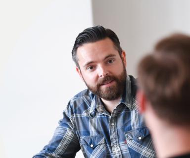 """""""Unser   Erfolg basiert vor allem auf Innovationskraft""""   Martin Drees, coliquio CEO, im Gespräch mit Dr. Roman Stampfli von Amgen GmbH"""
