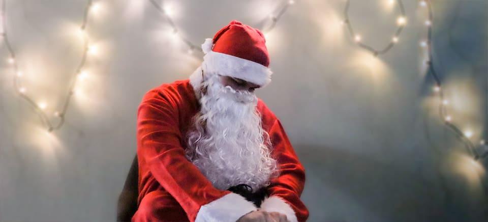 Weihnachtsmann stand vor dem disruptiven Aus