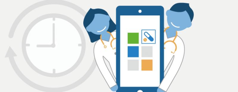 Infografik: So nutzen Ärzte Apps im Beruf | 1.471 Ärzte geben Insights