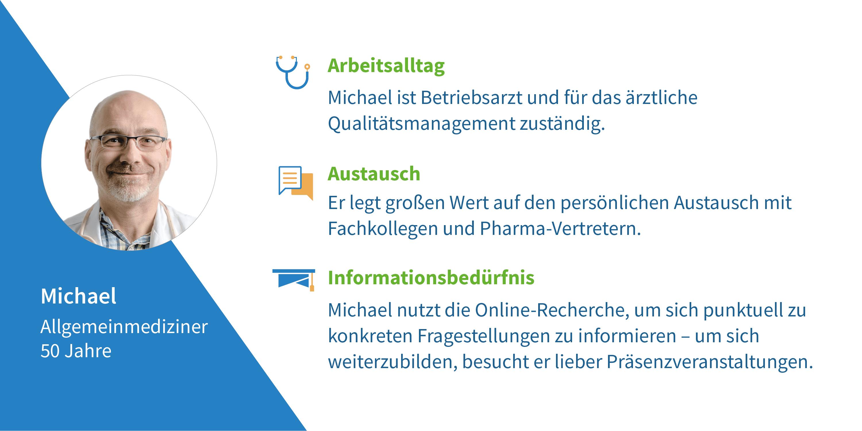 Arzt-Steckbrief Michael