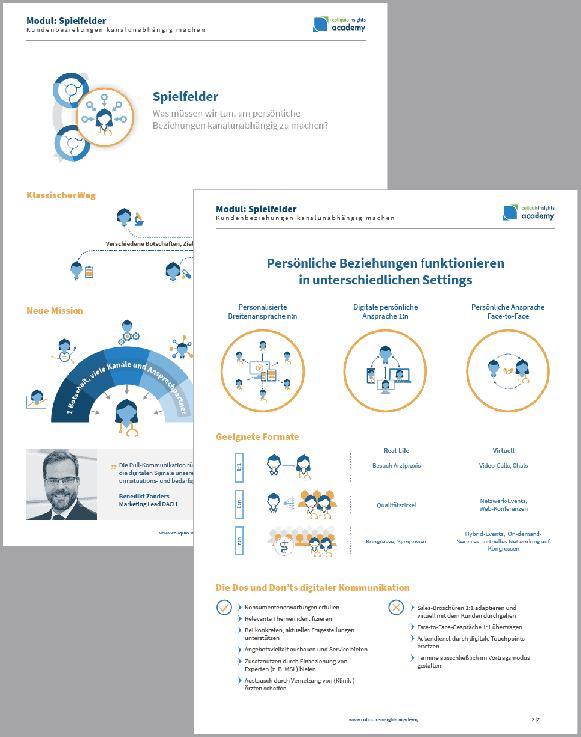 """Vorschau Factsheet """"Dos and Don'ts"""" der digitalen Kommunikation"""