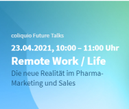 coliquio Future Talks | Komprimierte und richtungweisende Impulse für Pharma-Marketing und Sales