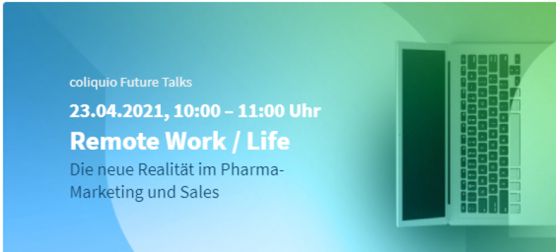 coliquio Future Talks | Komprimierte und richtungweisende Impulse für Pharma-Marketing und Sales