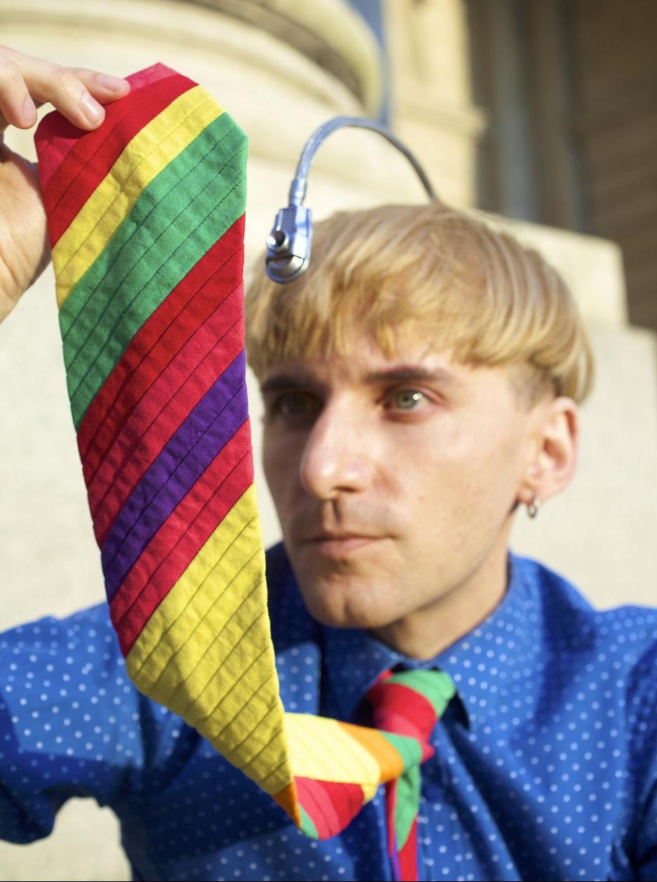 Neil Harbisson hört Farben